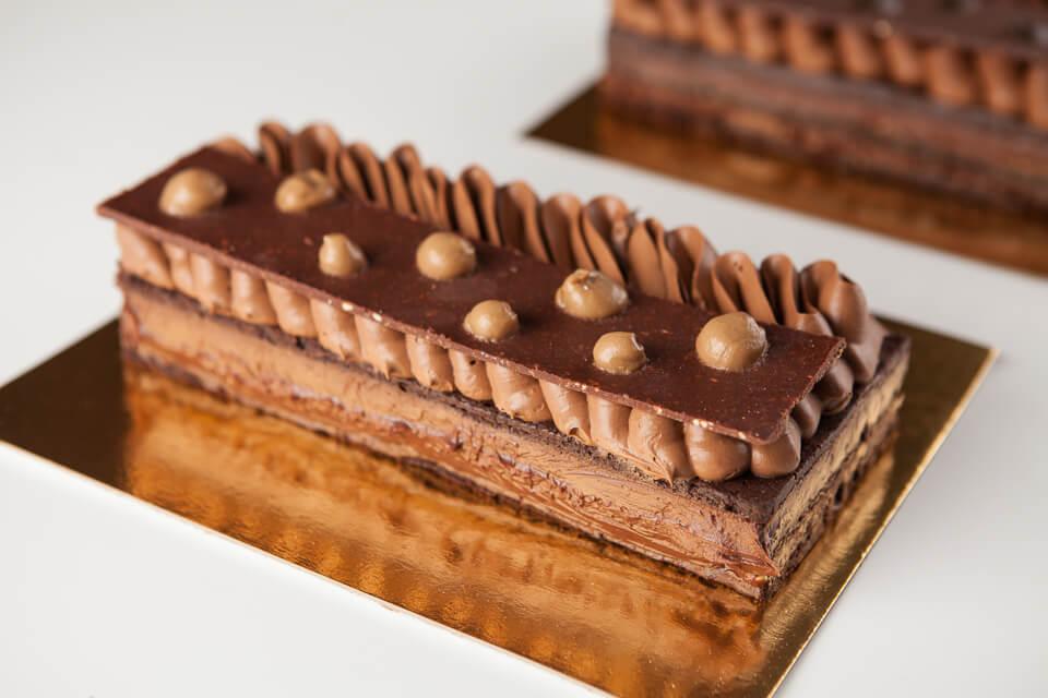gâteau chocolat et café