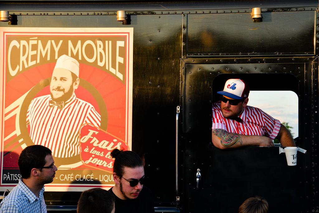 Cremy mobile à Montréal Expos