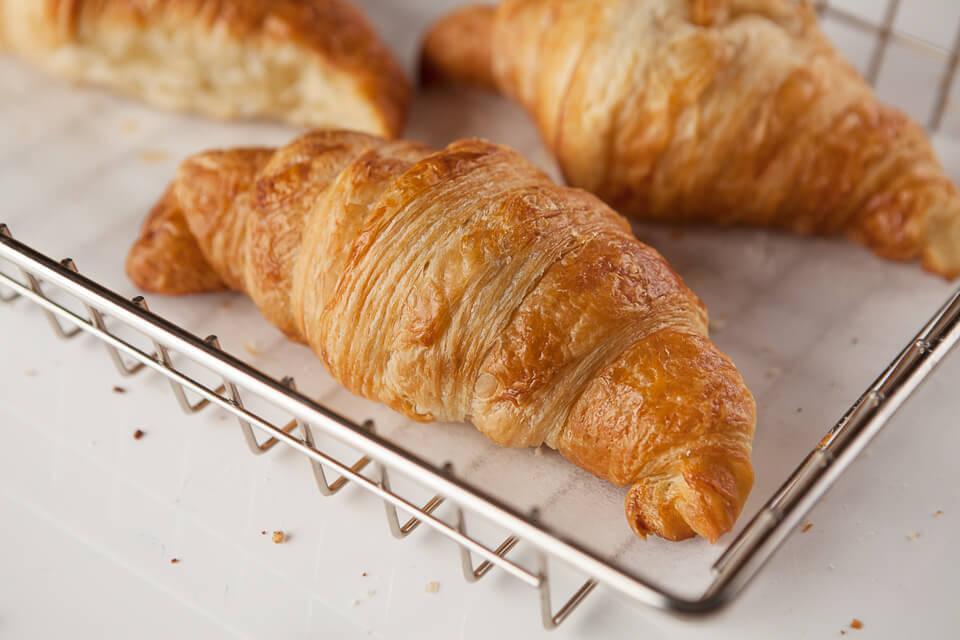 viennoiseries et croissants au beurre