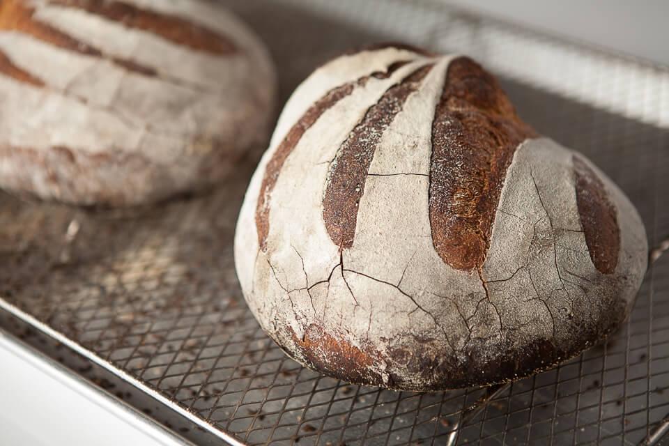 miche de pain à la mélasse