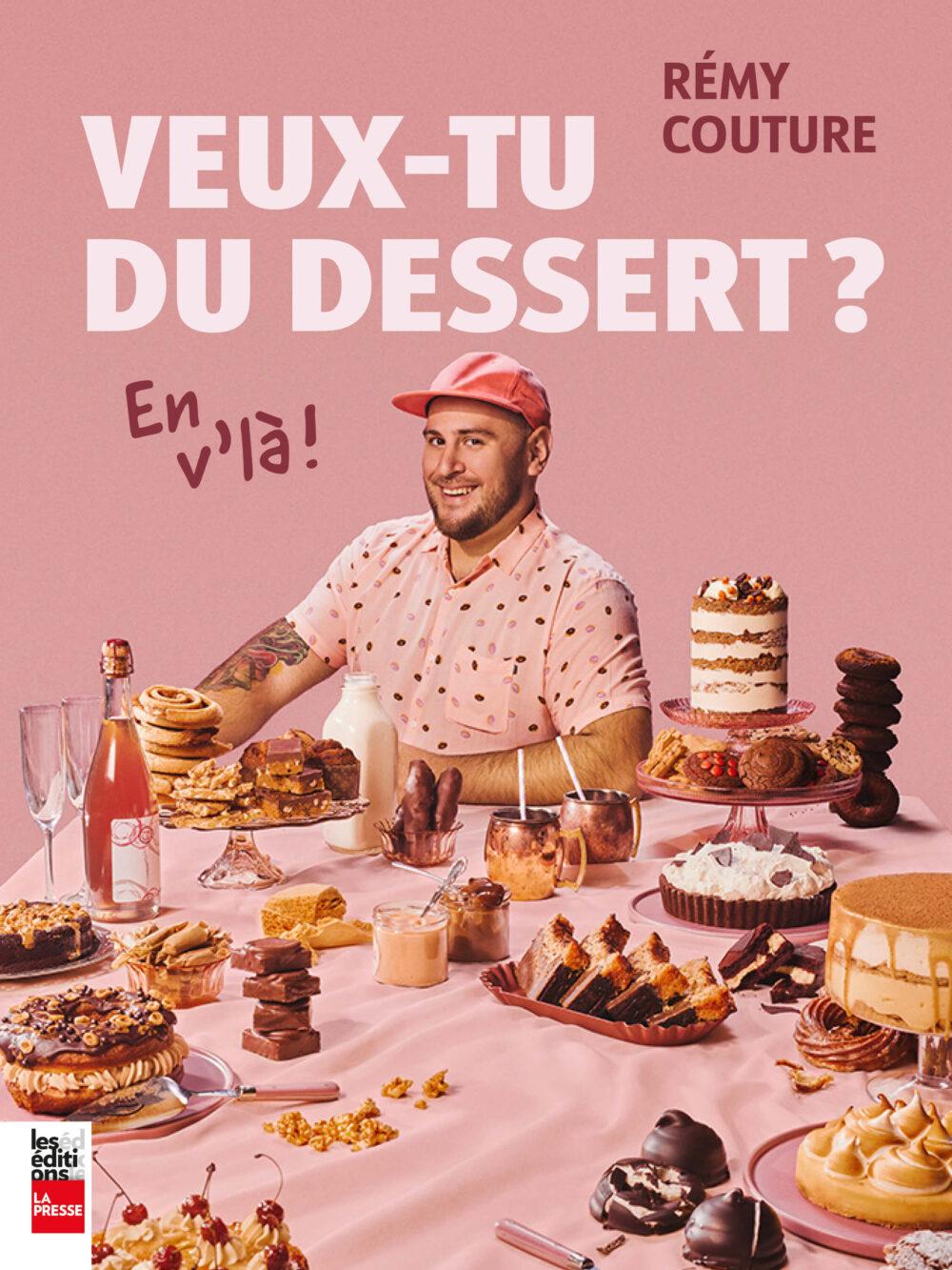 livre de recettes de dessert Crémy